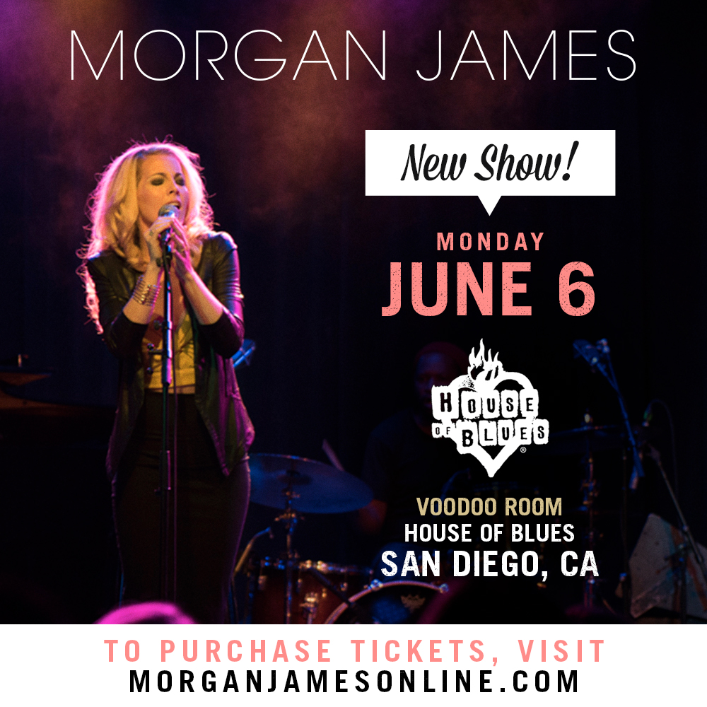 Morgan James - House of Blues San Diego - 6/6